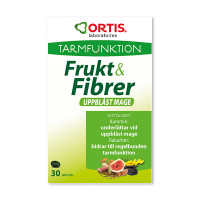 Ortis Frukt & Fibrer Uppblåst Mage  30t