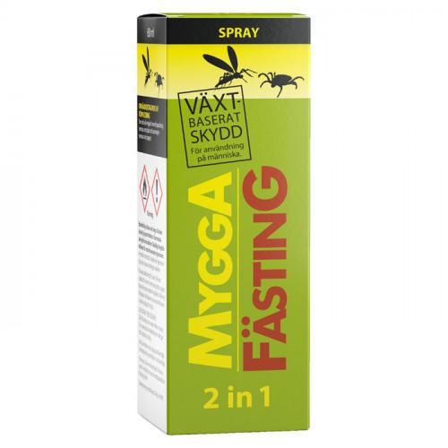Mygga MyggA Fästing 2-in-1 60 ml