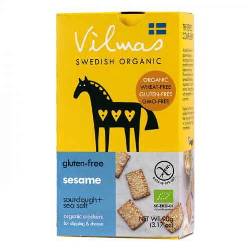 Vilmas Swedish Organic Vilmas sesamkex 90g EKO
