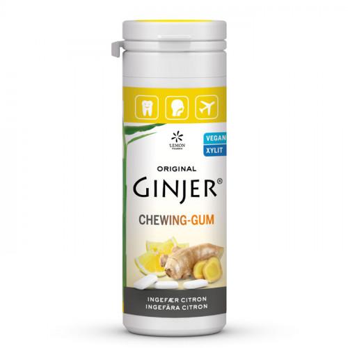 Ginjer Tuggummi  Ingefära Citron 30g