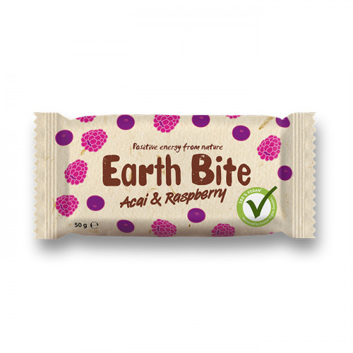 Earth Bite Earth Bite Acai & Raspberry 50g EKO