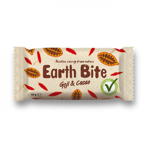 Earth Bite Earth Bite Goji & Cacao 50g EKO