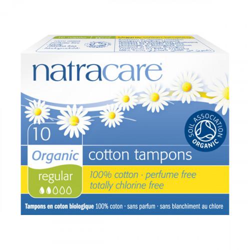 Natracare Tampong 10-p Regular  10 st EKO