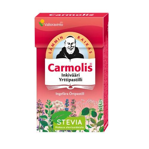 Carmolis Carmolis Örtpastill Ingefära 45g