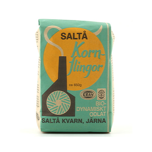Saltå Kvarn Kornflingor  650g KRAV EKO