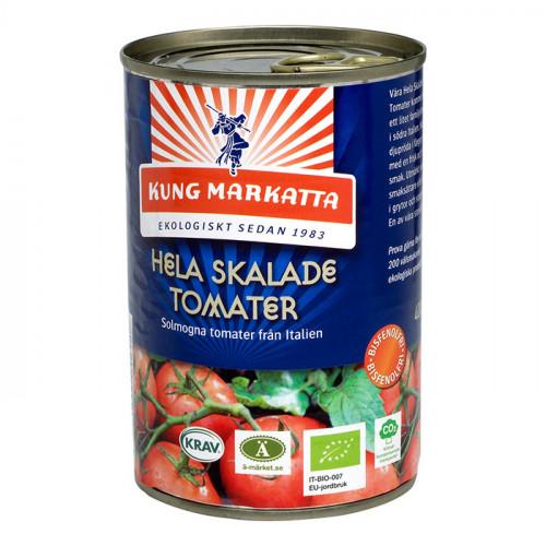 Kung Markatta Hela Skalade Tomater 400g KRAV EKO