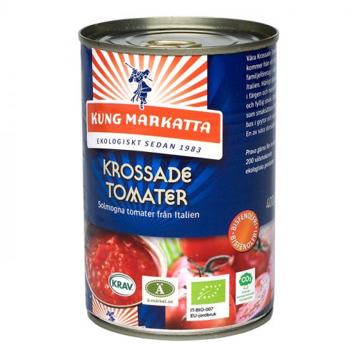 Kung Markatta Krossade Tomater 400g KRAV EKO
