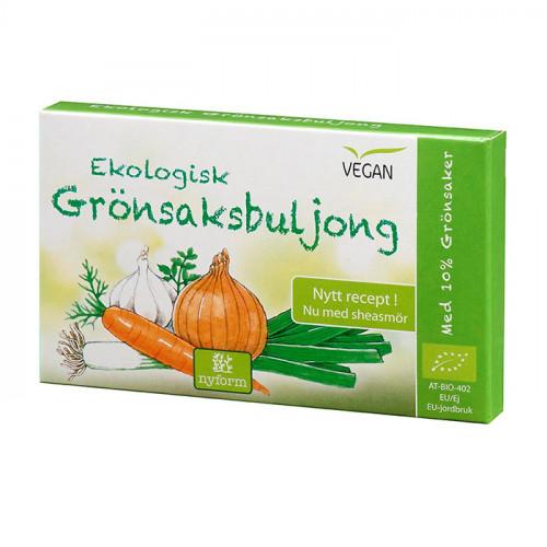 Nyform Grönsaksbuljong 8 tärningar EKO
