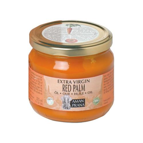 Amanprana Red Palm Oil Extra Virgin 325ml EKO Fairtrade