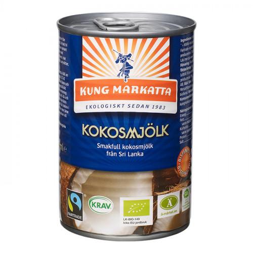 Kung Markatta Kokosmjölk 400ml KRAV EKO
