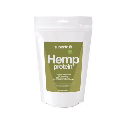 Superfruit Hemp Protein Powder 500g EU Organic