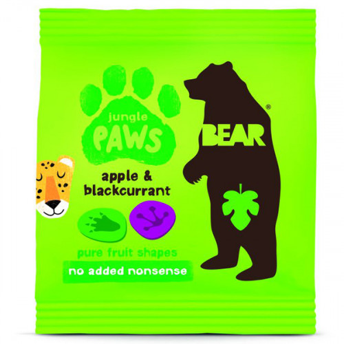 Bear Jungle Paws Äpple & Svartvinbär 20g