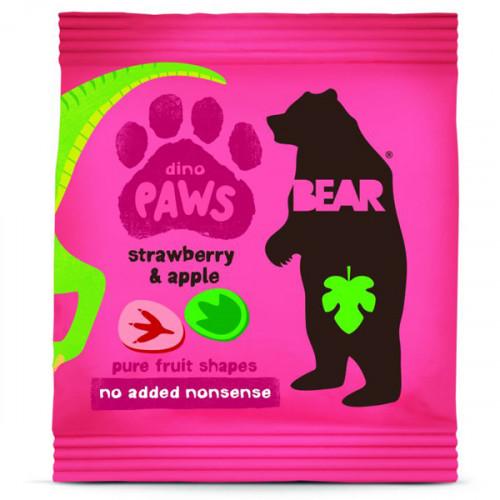 Bear Dino Paws Jordgubb & Äpple 20g