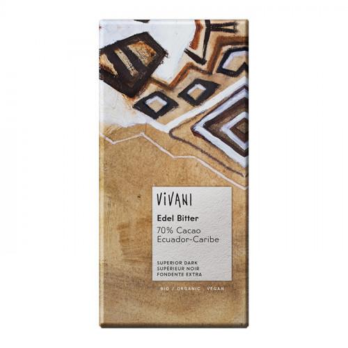 Vivani Choklad Mörk Ecuador 70% 100g EKO