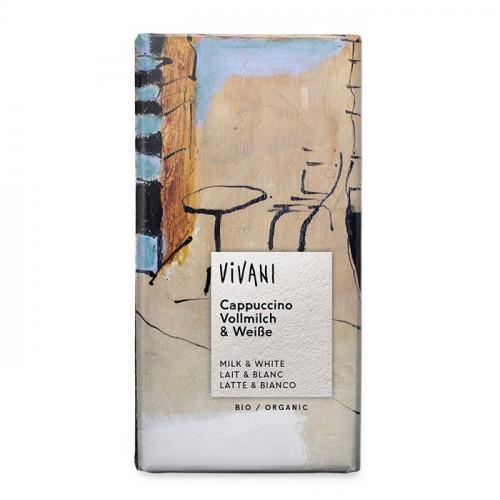 Vivani Choklad 40% Cappuccino 100g EKO