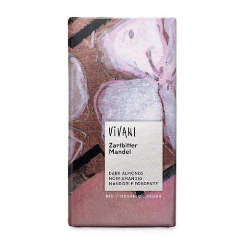 Vivani Choklad Mörk Mandel 100g EKO