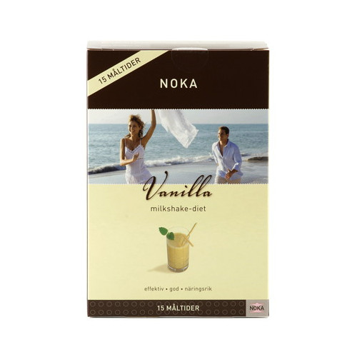 Noka Noka Milkshake Diet Vanilj 15p