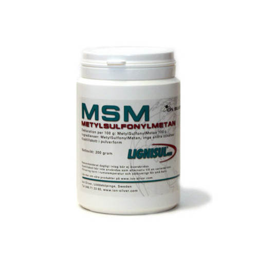 Ion Silver Lignisul MSM  200g
