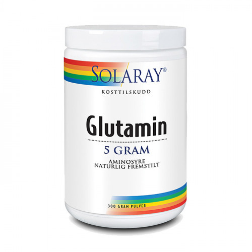 Solaray Glutaminpulver 300g