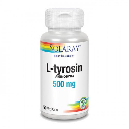 Solaray L-Tyrosin 50k 500mg