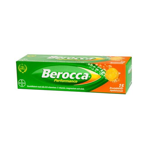 Berocca Berocca Performance  Apelsin Brus 15st