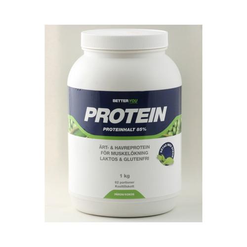 Better You Ärt & havreprotein Kokos & päron1kg