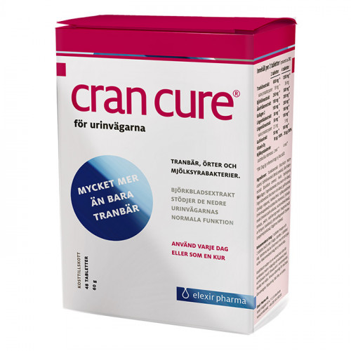 Elexir Pharma Cran Cure Tranbär 48t