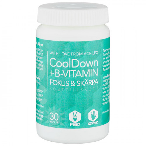 Acrilex CoolDown + B-vitamin 30k veg
