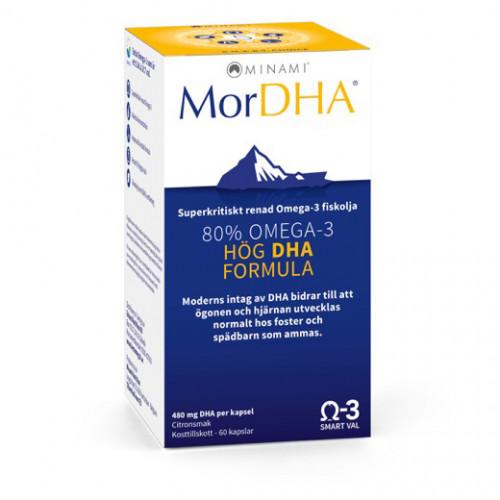 MorEPA MorDHA Gravida & Ammande Omega-3 60k