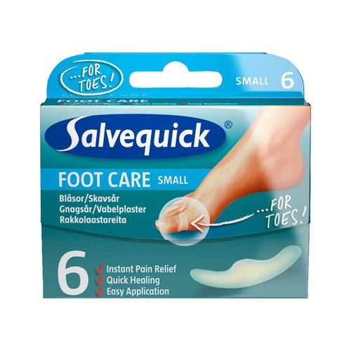 Salvequick Salvequick Foot Care Blåsor & Skavsår Small 6st