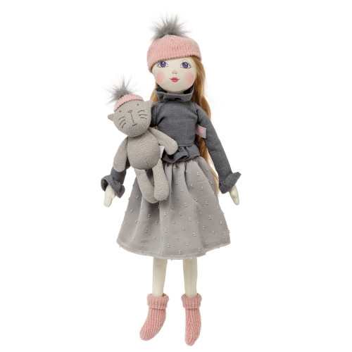 Designafriend Pompom Poppets Grey