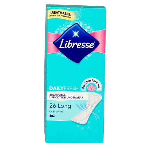 Libresse Pantyliner Long 26st