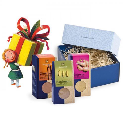 Sonnentor Presentbox liten Kryddor 110g