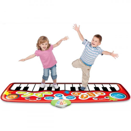 Music Step-to-Play Piano Mat