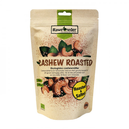 Rawpowder Cashew Roasted & Salted 350g EKO