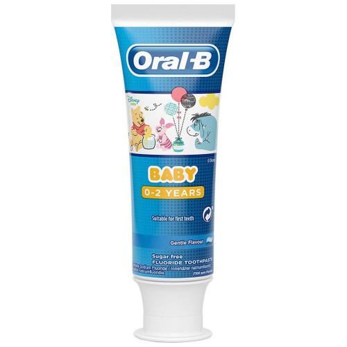 Oral B Tandkräm Baby 0-2