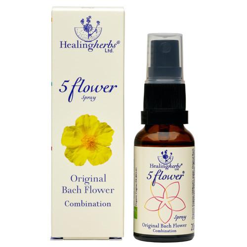 Healingherbs Dr Bach Five Flower Spray 20ml