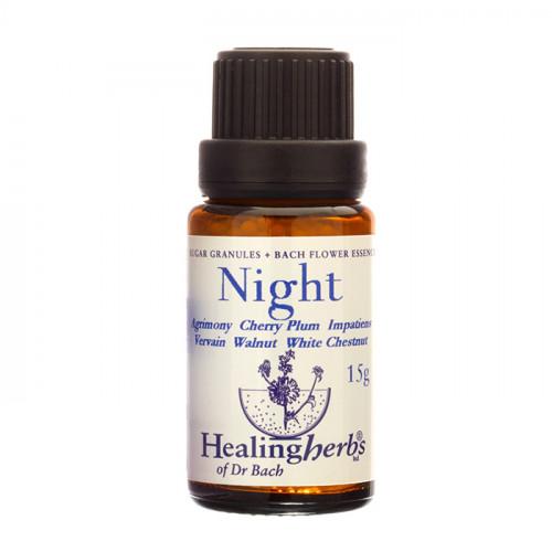 Healingherbs Dr Bach Night Granulat 15g
