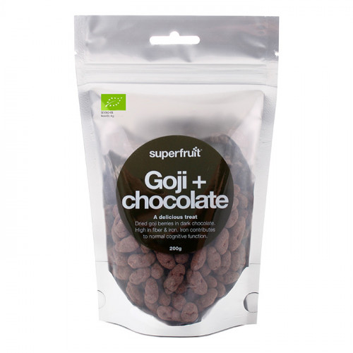 Superfruit Goji Choklad 200g EKO