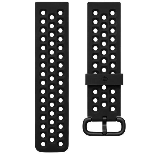 Fitbit Versa 2 Sportarmband Svart (L)