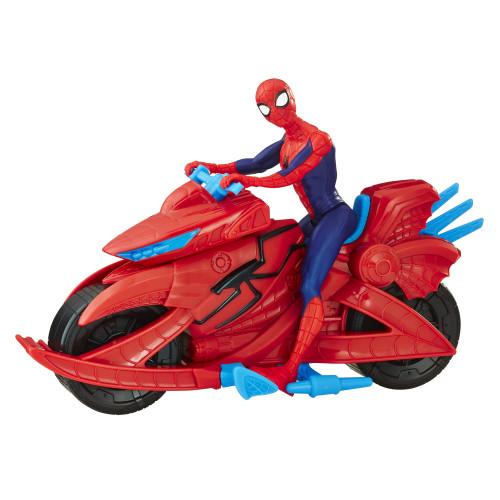 Spider Man Figur Med Fordon