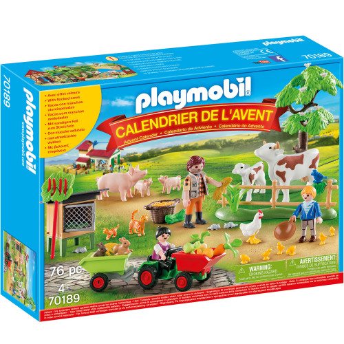 Playmobil Adventskalender Bondgård