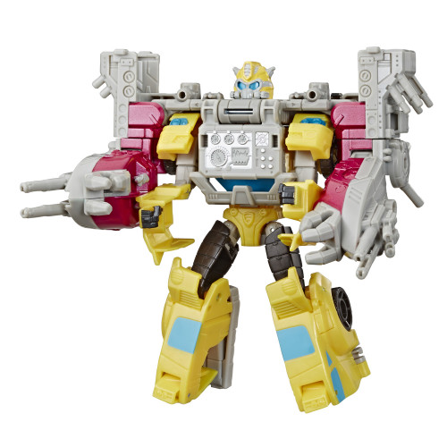 Transformers Cyberverse Spark Armor Bumble.