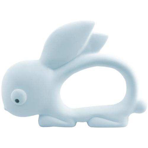 Carlobaby Bit/badleksak Kaninen Kim Blå
