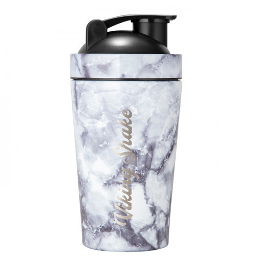 Viking Shake Viking Shake White Marble Shaker 500 ml