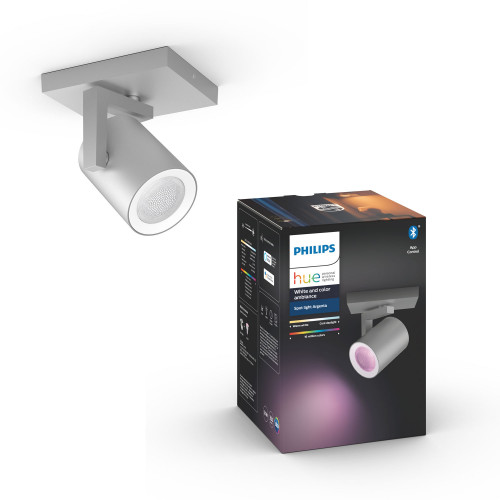 Philips Hue Argenta Wh/Color 1x5,7W Al