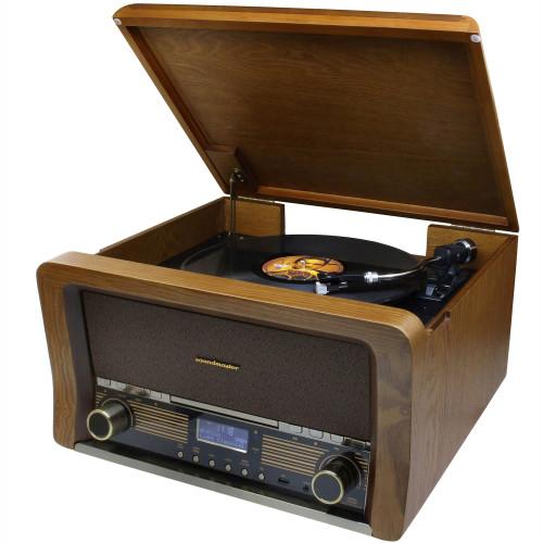 Soundmaster Retro skivspelare TT/BT/CD/USB