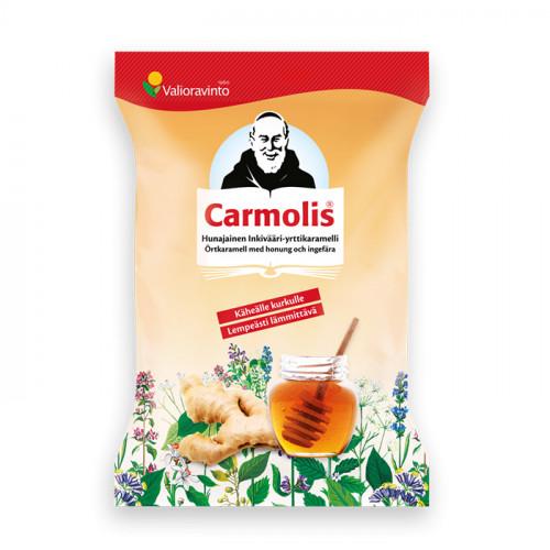 Carmolis Carmolis Örtkaramell Ingefära & Honung 72 g