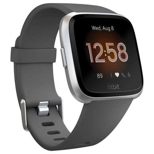 Fitbit Versa Lite, Charcoal/Silver