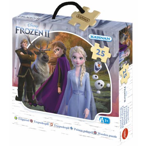 Kärnan Askpussel trä Disney Frozen II